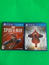 Replacement Case (NO GAME) Marvel Spider-Man & A. Spiderman 2 Playstation 4 PS4