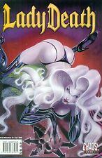 Lady Death Dark Millennium #3 By Reis Beck Cover Low Print Run Chaos! NM/M 2000