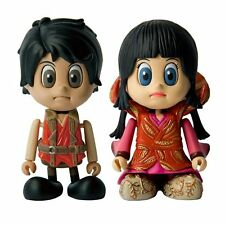 """NEW Cosbaby GOEMON Set 1 """"I want to become free """" Goemon and Chacha from Japan"""