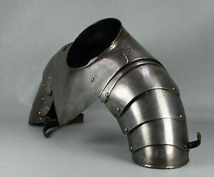 Medieval Gorget & Shoulders Armour Set Re Enactment Collectible Antique Vintage