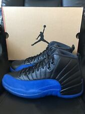Nike Air Jordan 12 XII Retro Game Royal 4-13 Black Blue 130690-014