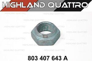 Audi ur quattro / coupe / 80 / 90 genuine drive shaft axle nut 803407643A