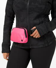 NWT Lululemon Everywhere Belt Bag Waist Fanny Pack Pink Highlight hot FREE SHIP!