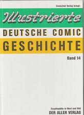 Illustrierte Deutsche Comicgeschichte Nr. 1-14 komplett (0-1/1) HC Lehning Aller