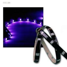 (7,56€/m) 5m flexibler SMD LED Streifen UV/Schwarzlicht IP44, Lichtband 12V DC