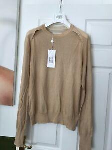£415 NEW Maison Martin Margiela Mens Knitwear Jumper Crewneck Sweater Medium