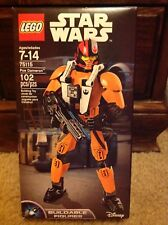 Lego Disney Star Wars Poe Dameron Buildable Figures #75115 New MISB
