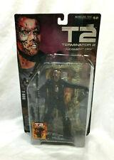 2001 Mcfarlane Terminator 2 Judgment Day T-800 Figure Movie Maniacs New Sealed