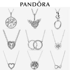 ALE S925 Genuine Silver Pandora Sparkling Necklace New With Box