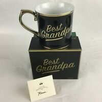 NEW Coffee Mug by Rosanna Best Grandpa Black and Gold
