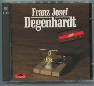 2CD Franz Josef Degenhardt: Von Damals und von dieser Zeit (Polydor)