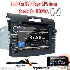 Car Stereo for HONDA 2007-2011 Auto radio DVD GPS Multimedia Navigation+FREE CAM