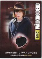 Walking Dead Season 4 Costume Relic Wardrobe Card Chandler Riggs Carl Grimes M01