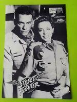 "German Film Program. ""Street Fighter"" Jean-Claude Van Damme. 1994"