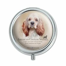 American Cocker Spaniel Dog Breed Pill Case Trinket Gift Box