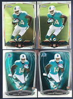 JARVIS LANDRY 4 Card Rookie Lot #177 RC SP 2014 TOPPS CHROME 2014 Bowman chrome
