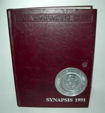 "1991 SYNAPSIS ""PHILADELPHIA COLLEGE OF OSTEOPATHIC MEDICINE YEAR BOOK"