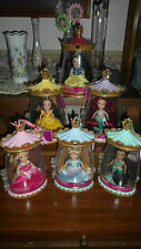 6 Disney Princess Darlings-Aurora, Cinderella, Snow, Jasmine, Belle, Ariel -New