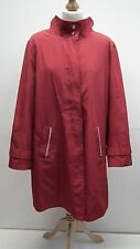 Red  Lightwieght Coat from David Barry Size 18