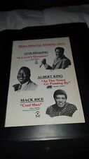 Otis Redding Albert King Mack Rice Rare Atco Promo Poster Ad Framed!