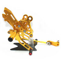 For Honda Grom MSX125 2013 2014 2015 2016 CNC Rearsets Foot Pegs Rear set gold