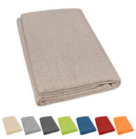 Telo arredo copridivano letto tinta unita foulard copritutto cotone più misure