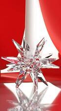 SWAROVSKI STAR CANDLEHOLDER CLEAR 5064295 MINT BOXED RETIRED RARE