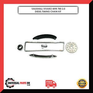 VAUXHALL VIVARO M9R 780 2.0 DIESEL ENGINE TIMING CHAIN KIT NEW TIMING CHAIN KIT