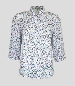 ERFO - Damen Bluse 3/4 Arm - Allover-Print - 1021043002