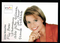 Ulrike Nitzschke MDR Autogrammkarte Original Signiert # BC 45001