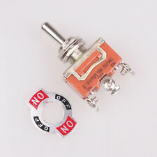 1pcs Latching SPDT 3 Positions ON/OFF/ON 3-Terminals Latching Toggle Switch AC