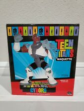 Teen Titans Maquette Cyborg Statue 475/700 Limited Edition By Dc Direct