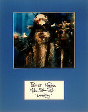 original Star Wars autograph Logray Ewik medicine man Mike Edmonds vintage RotJ