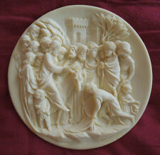 "Ghiberti Doors Collection plate""Christ's Entry Into Jerusalem""Alberto Santangela"