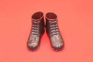 Vintage Action Man Repro Short Brown Afrika Korp Boots one pair
