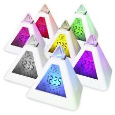 Digiflex Orologio sveglia digitale cambia colore a 7 LED TRIXES a forma (k9p)