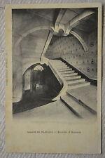 """CPA """" ABBAYE DE FLAVIGNY - Escalier d'Honneur"""