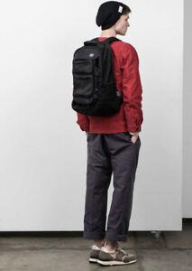 C6 Tetra rucksack Backpack laptop Bag all black  NEW RRP £165 Nylon Fabric