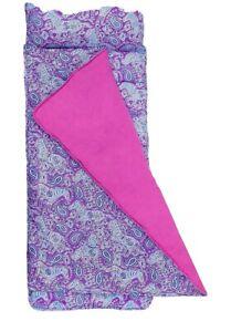 Wildkin Watercolor Ponies Nap Mat Cover Sewn-in Flap Pillowcase Design NEW