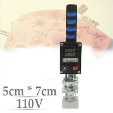 5 * 7cm Hot Foil Stamping Machine Logo Printing Embosser for PVC ID Credit Card
