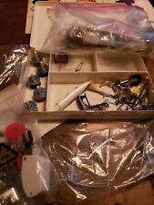 Bernini Sewing Box, Speedy Stitcher Sewing Machine Feet And Other Supplies
