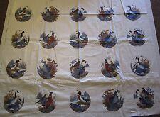 1 Fabric Panel Game Birds Mini Cushion Panels Fabric