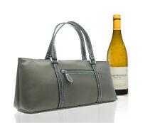 Wine Cooler Bag Purse Tote Bottle Liquor Secure Transport Hand Carseat Carrier