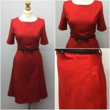 Polyester Short Sleeve Dresses for Women with Fit & Flare