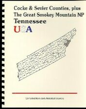 TN Cocke & Sevier County Smoky Mountains Tennessee 1887 Goodspeed RP history/bio