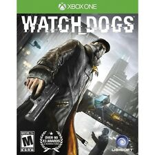 New! Watch Dogs (Xbox One, 2014) - U.S. Retail Version! Ships Worldwide!