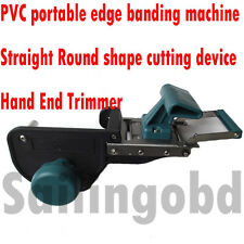 WoodWork Portable edge banding machine PVC Straight Round shape cutting device