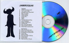 JAMIROQUAI Snippets & Full Versions UK 25-trk promo only publishing sampler CD