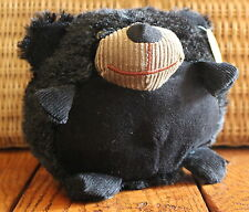 "6"" Small Throw Me Friends Stuffed Animal Ball Brown Bobby Bear Plush Soft Toy"