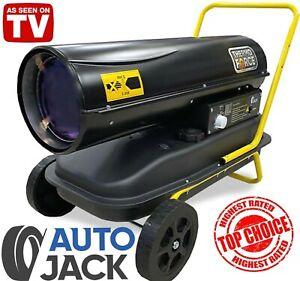 Autojack Professional Diesel Paraffin Kerosene Space Heater 30KW 100,000 BTU